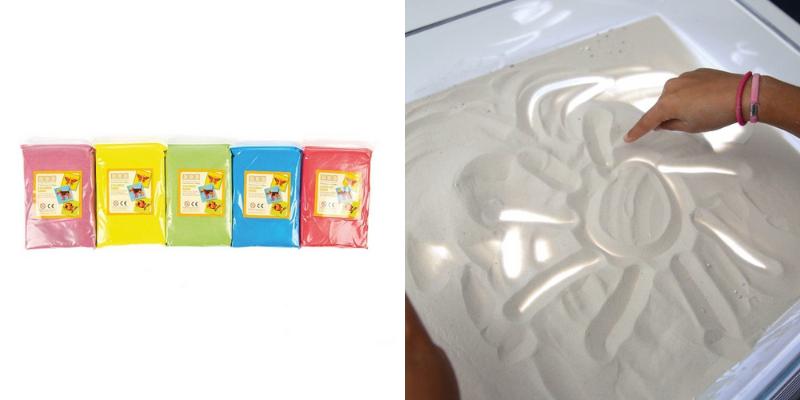 Activités lumineuses : sable