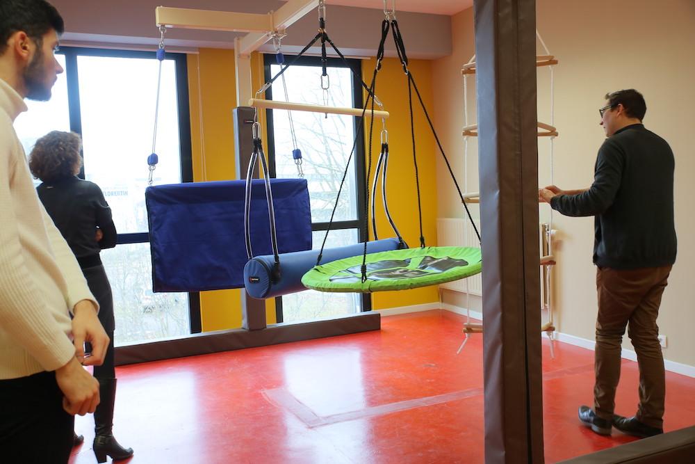 Salle intégration neuro-sensorielle