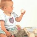 Ensemble jouets éveil bois bébé panier découverte