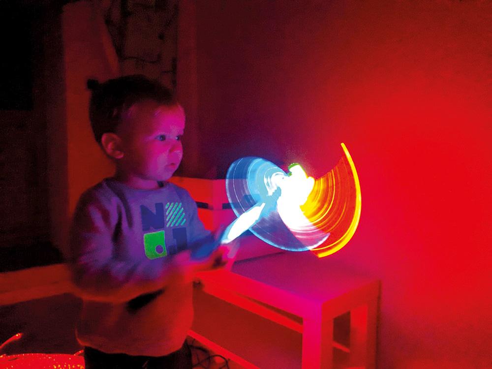 espace multisensoriel jouet lumineux