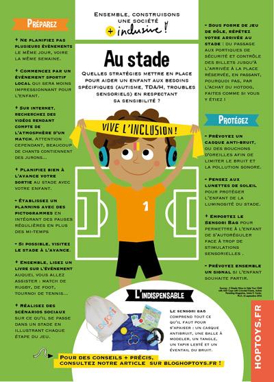 """Infographie """"Au stade"""""""