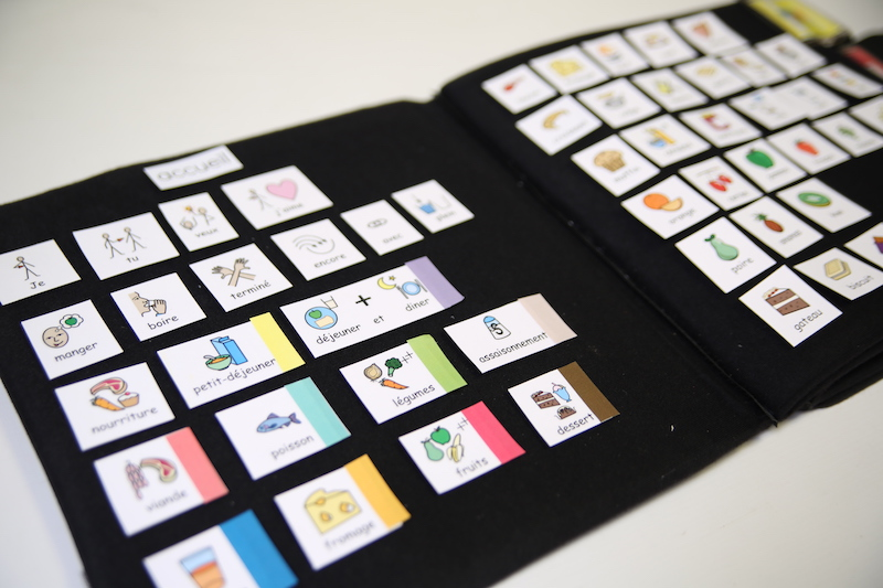 Le cahier de communication : outil indispensable entre l'éducatrice spécialisé et l'enfant autiste