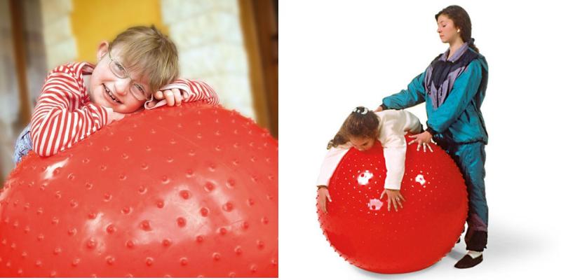Ballon à picots