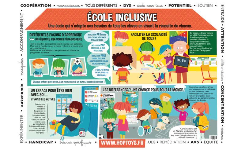 affiche école inclusive
