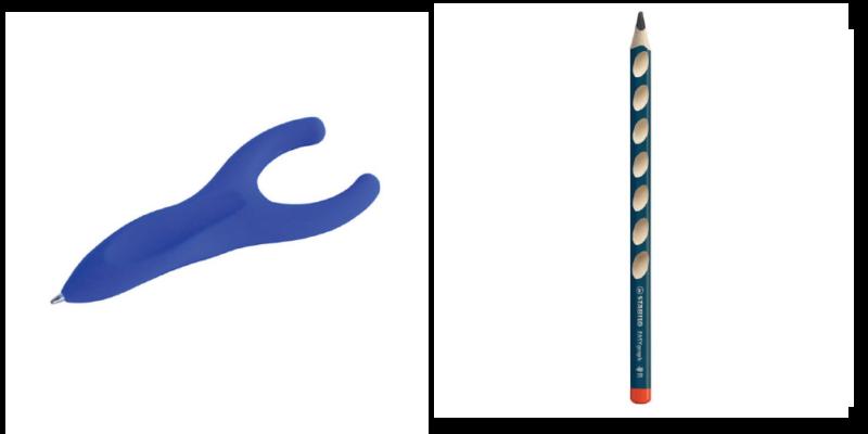 penagain et crayon ergonomique