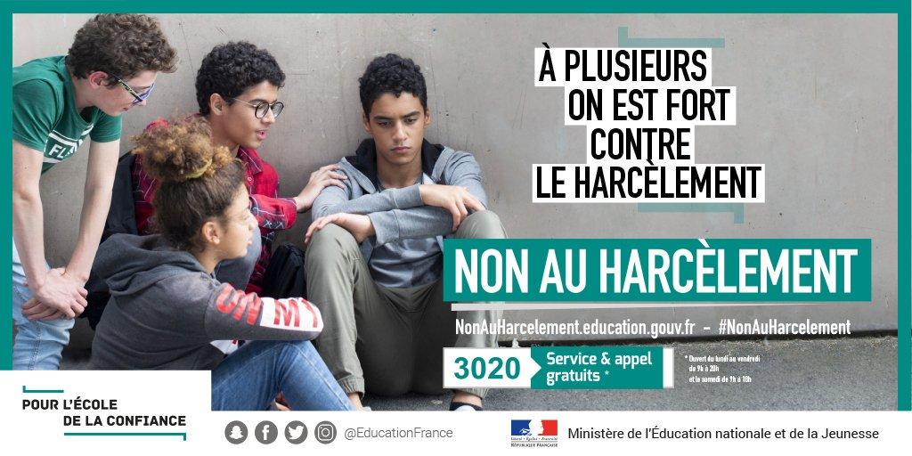 Non au harcèlement 2019-2020