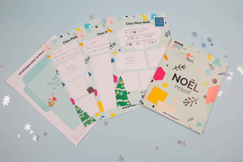 préparer sa lettre au père-Noël