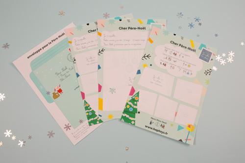 lettre père-Noël
