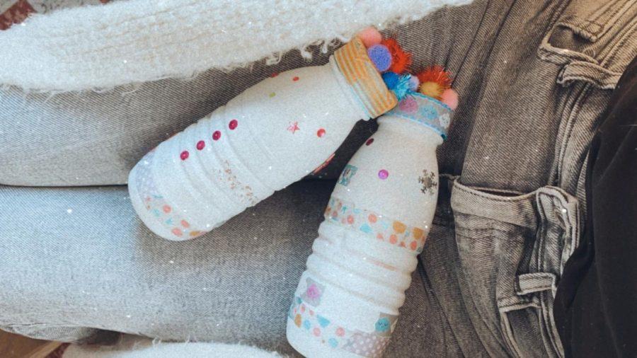 Activité enfant confinement : les bouteilles magiques