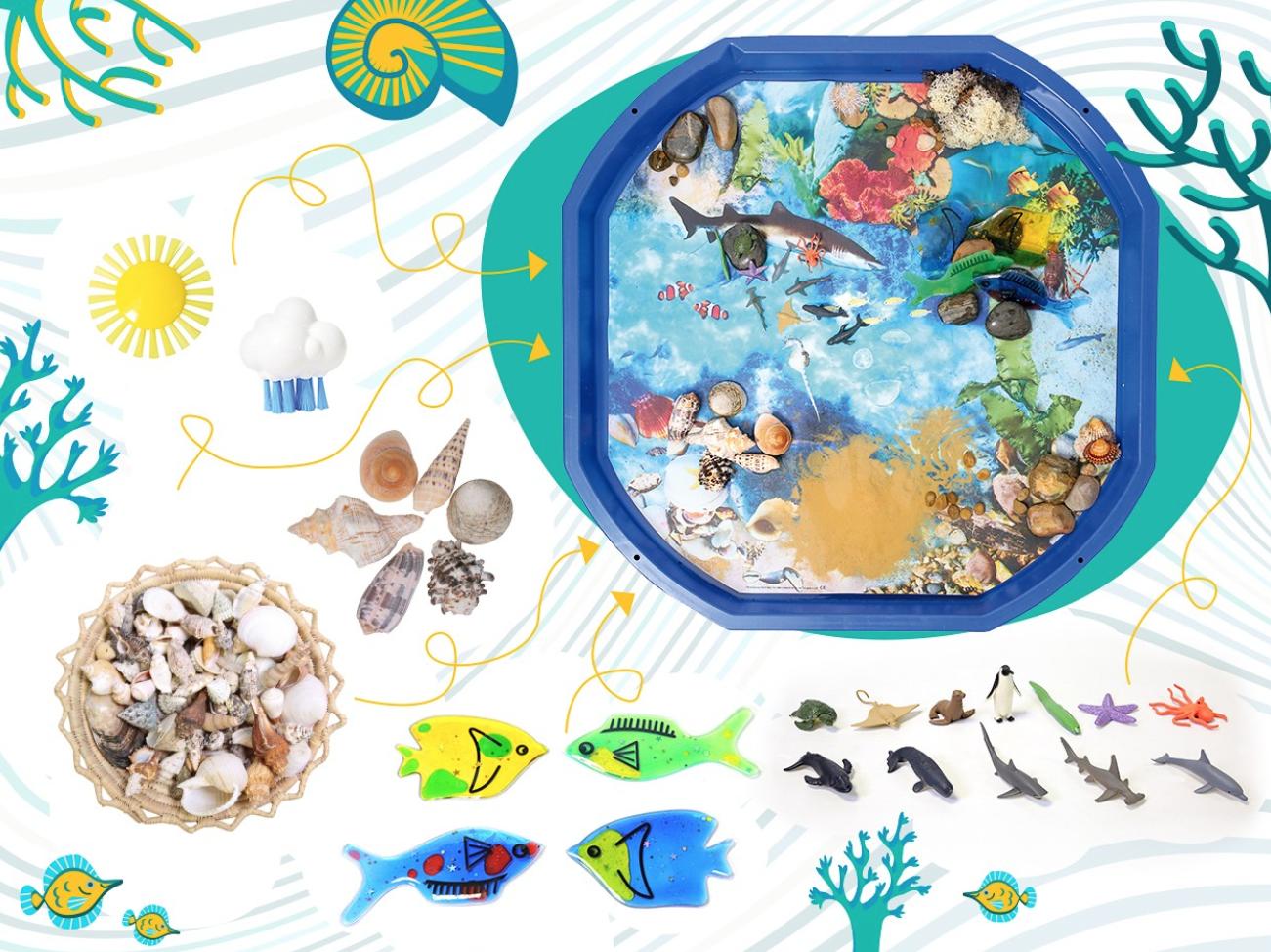 BAc d'exploration océan et nature : activité confinement