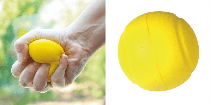 Activité Alzheimer : la balle à modeler