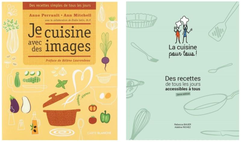 Des livres de recettes pour tous
