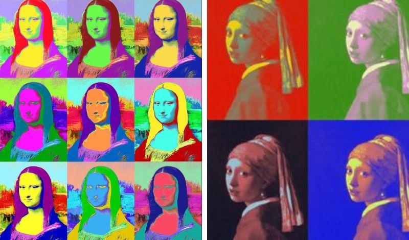 Peinture Andy Warhol