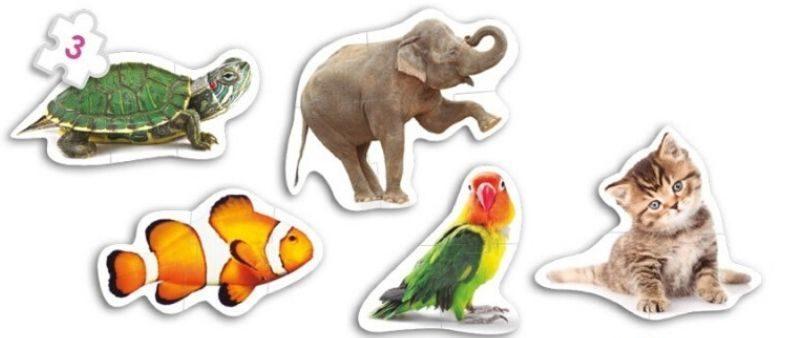 Puzzle animaux