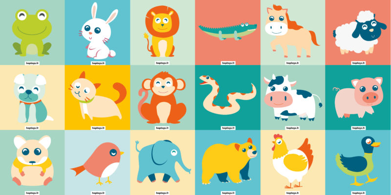 Illustrations d'animaux