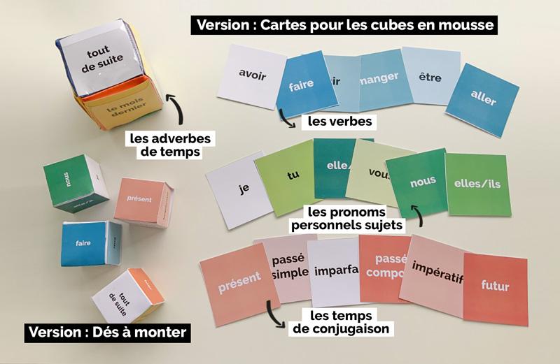 Des Des Pour Conjuguer Blog Hop Toys