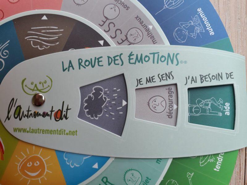 La roue des emotions