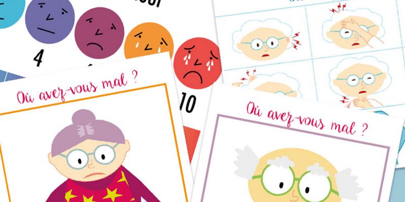 Alzheimer et douleur : des outils visuels