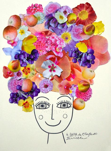 Fête des mères : un portrait en collage tout en couleur !