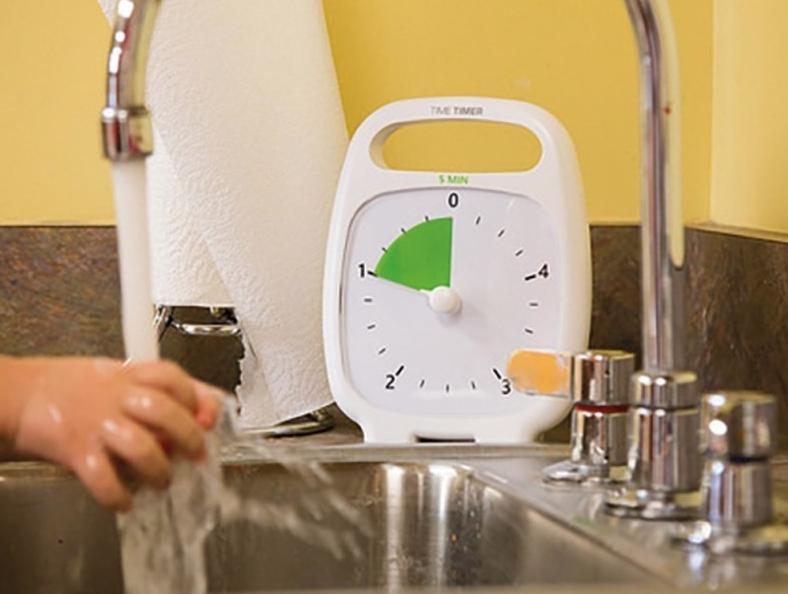Time Timer : le lavage de main
