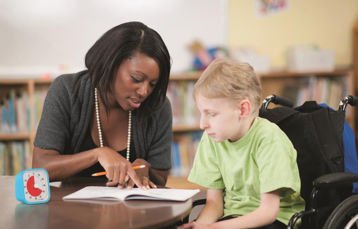 Le time Timer : l'enfant aux besoins spécifiques