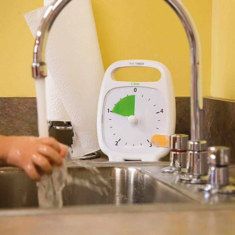 Un timer visuel pour le lavage de main