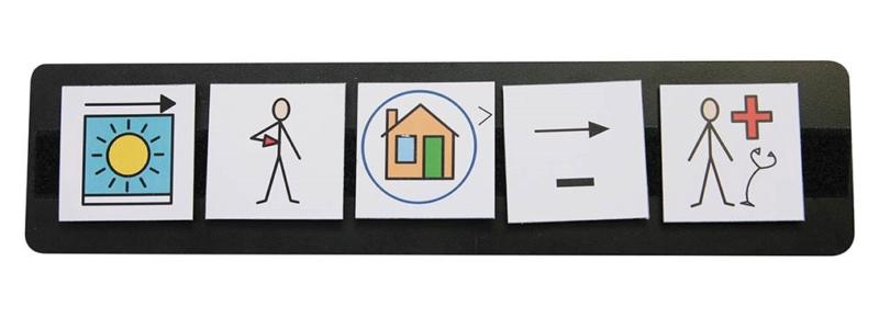Support de communication pour pictogrammes