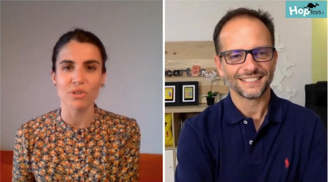 Sara Garcia et Patrice Iacovella, facebook live du 17 juin 2020