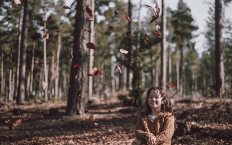Une balade sensorielle en forêt