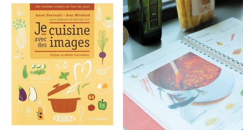 Livre je cuisine en images