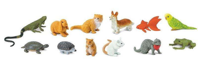 Des figurines animaux