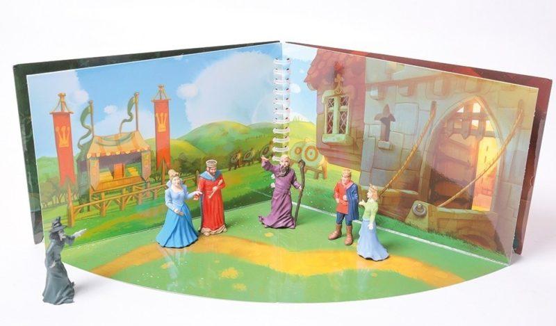 livre 3d prince et princesse
