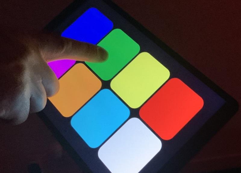 activités interactives - sensory console