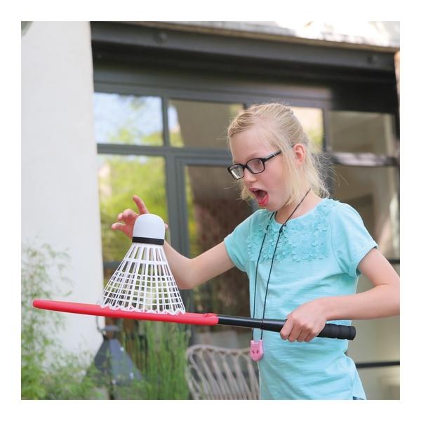 Mega-raquettes de badminton