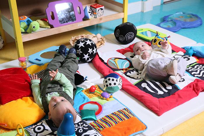 Un espace Nido pour bébé