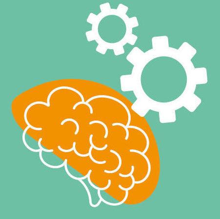 La pensée critique représentée par un cerveau
