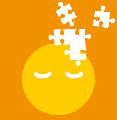 Le raisonnement représenté par des pièces de puzzle qui s'imbriquent les une dans les autres