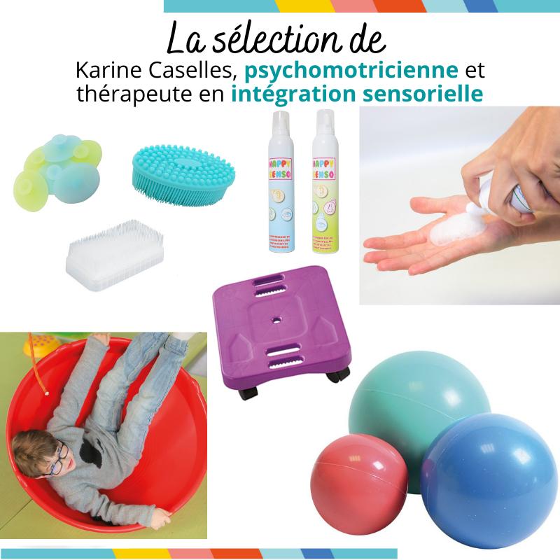 La sélection de Karine Caselles psychomotricienne