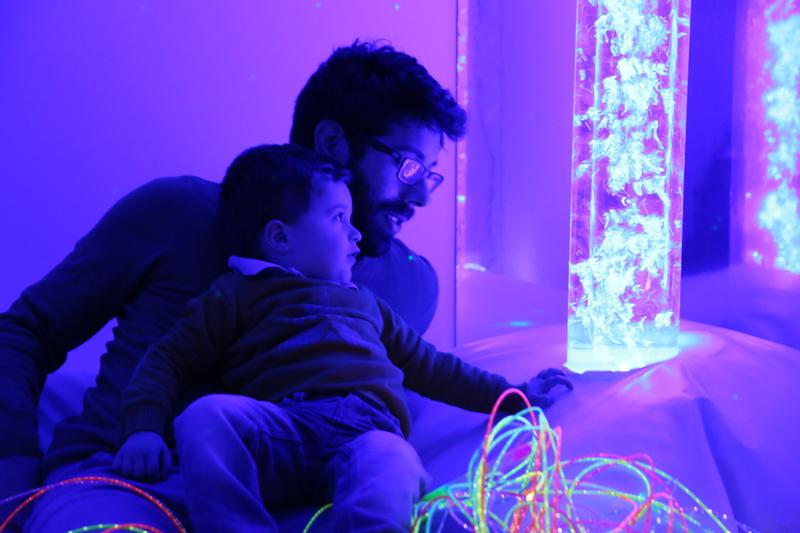 Petite enfance et espaces sensoriels