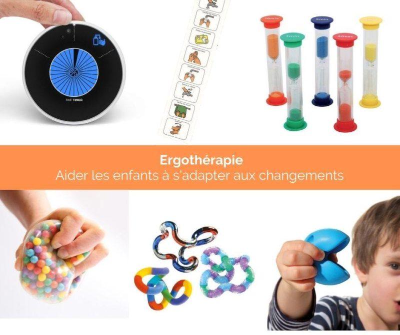 Ergothérapie : Aider les enfants à s adapter aux changements