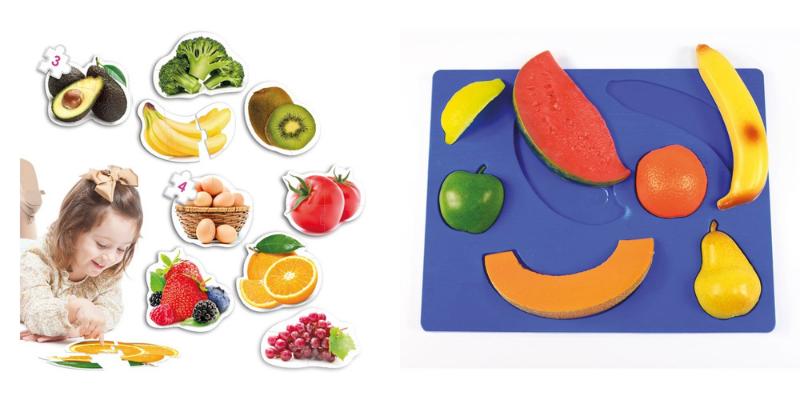 Puzzle et encastrement alimentation