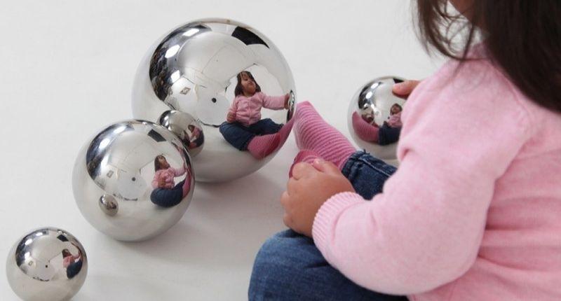 balles sensorielles miroir
