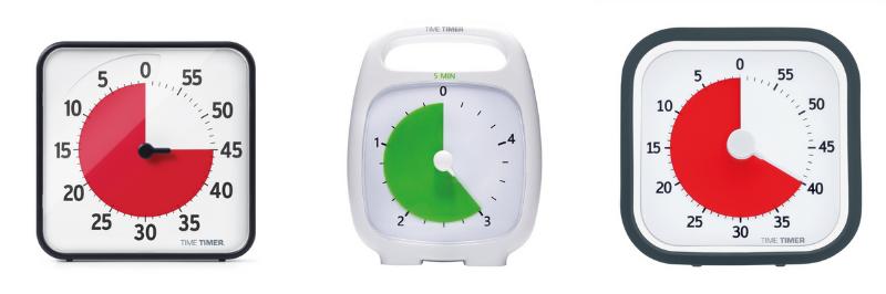 Les différents modèles de Time Timer