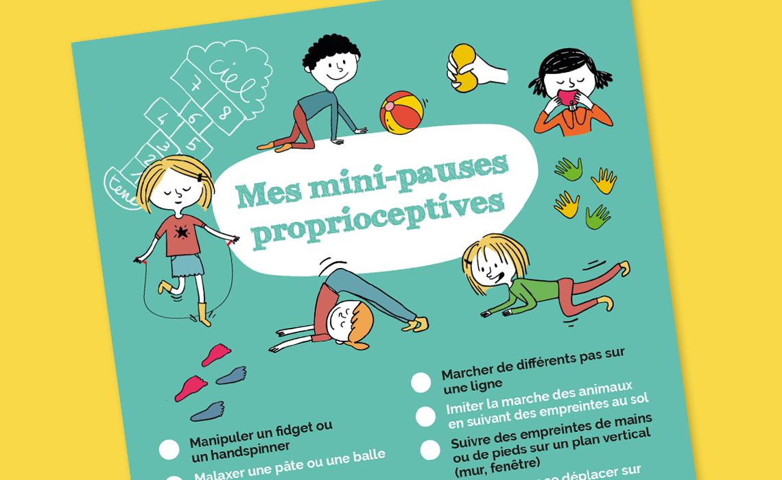 20 mini-pauses proprioceptives