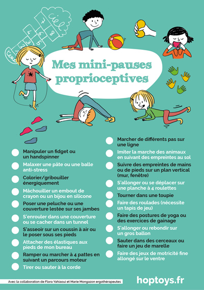 Mes mini-pauses proprioceptives