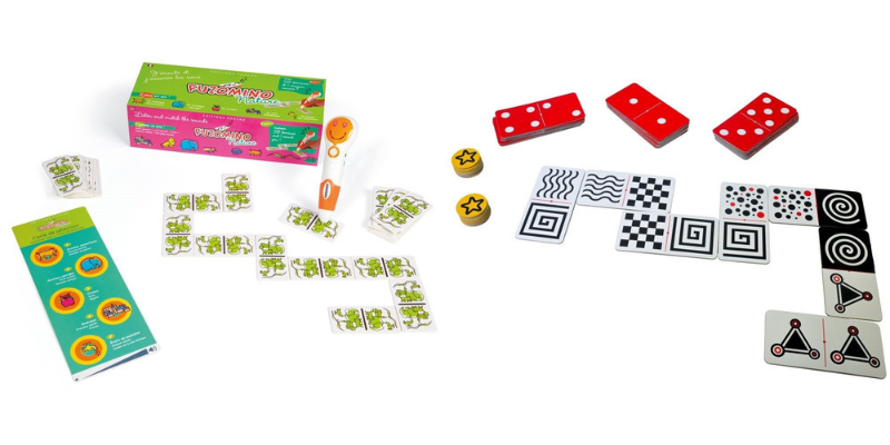 Dominos tactiles et sonores
