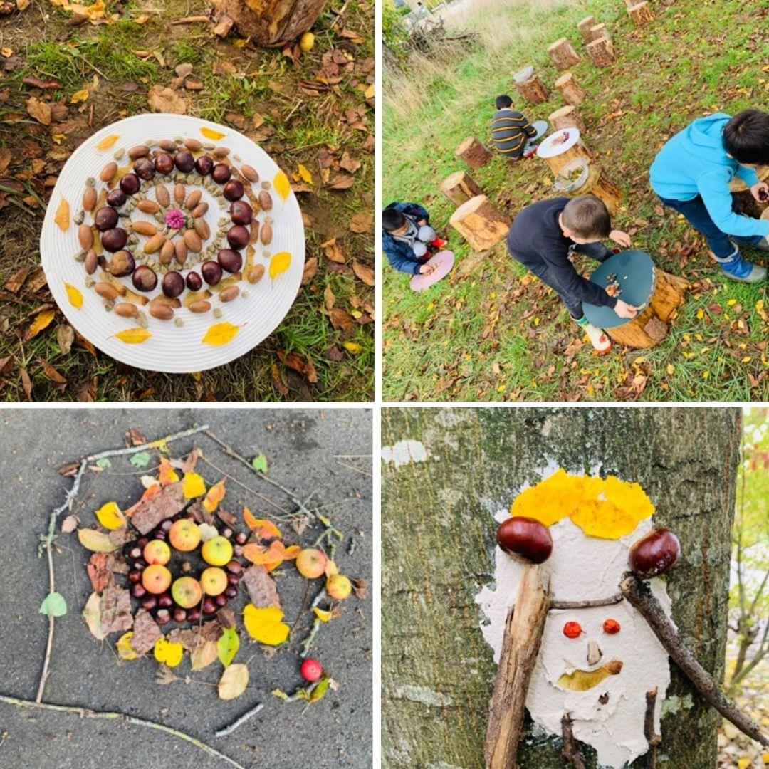 du land art d'automne