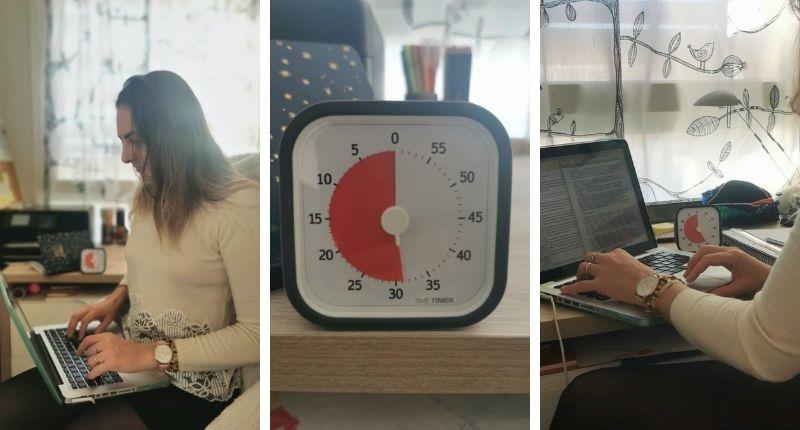 Elize utilise le Time Timer Mod