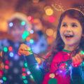 Enfant ayant des particularités sensorielles à Noël