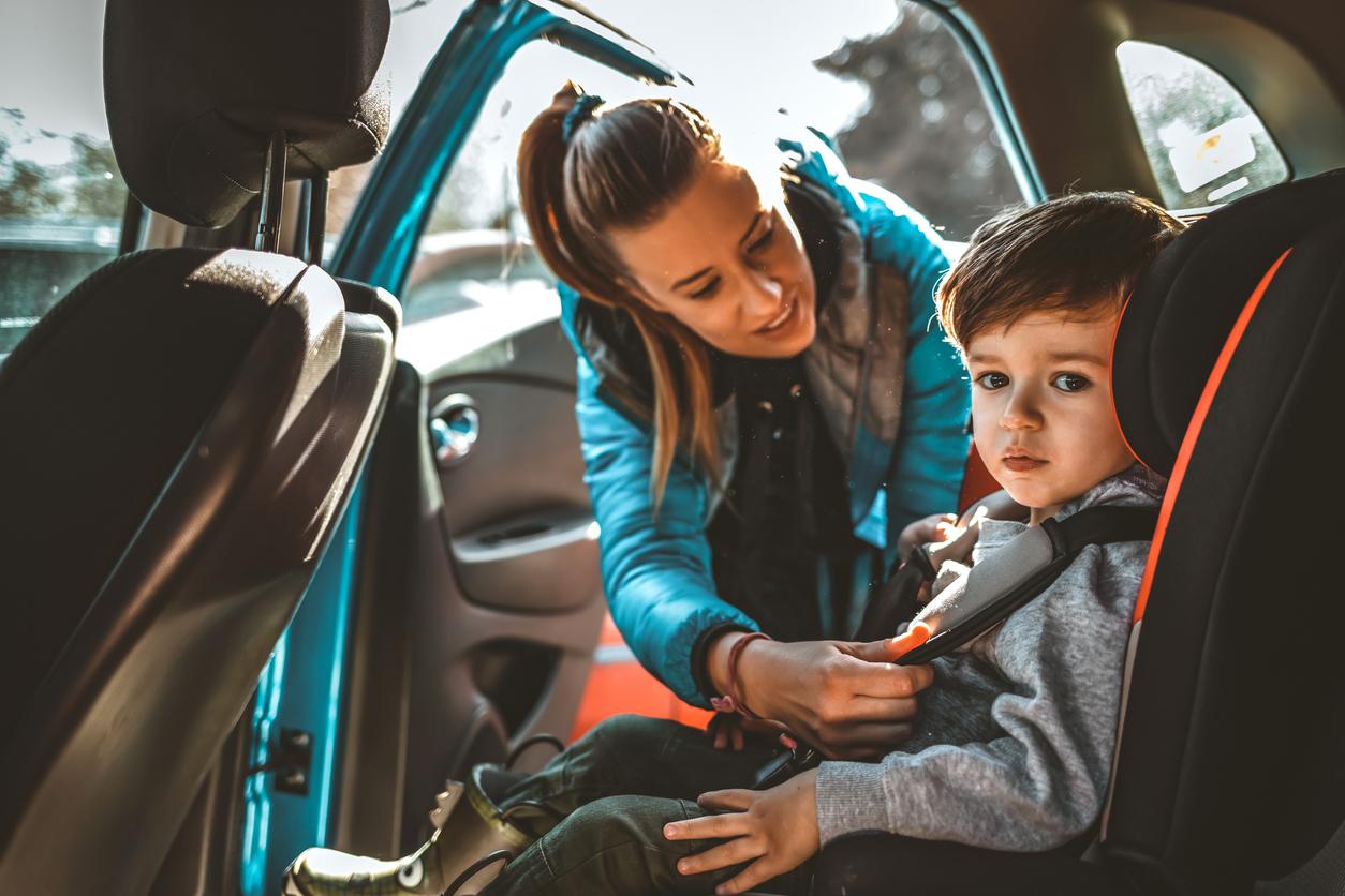 Enfant transport voiture